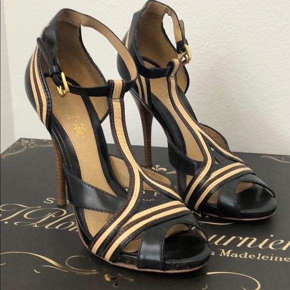 L.A.M.B. Shoes - L.A.M.B Strappy Heels sz 9